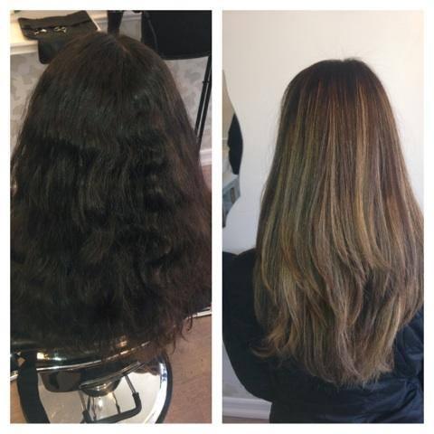 Hair transformation by Angela