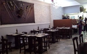 Intimate dining layout adds to the character of El Olivo