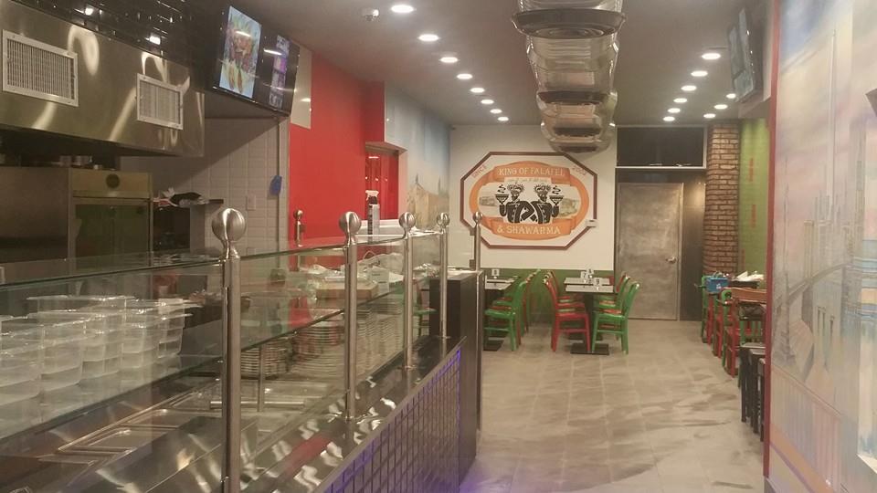 king-of-falafel-interior