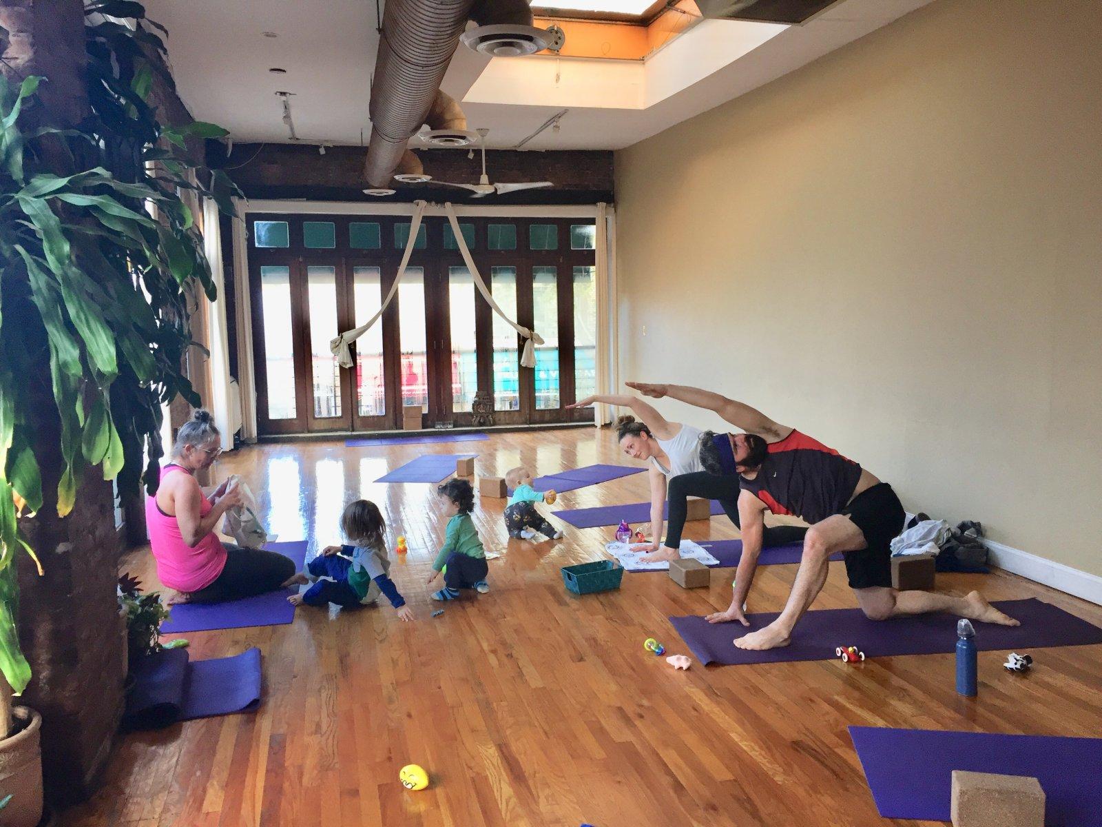 Yoga Agora Parent Child Classes
