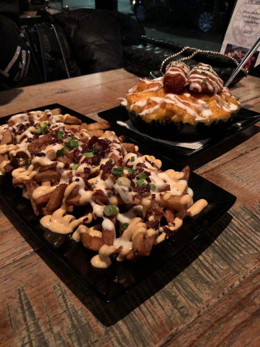 Burgerology appetizers
