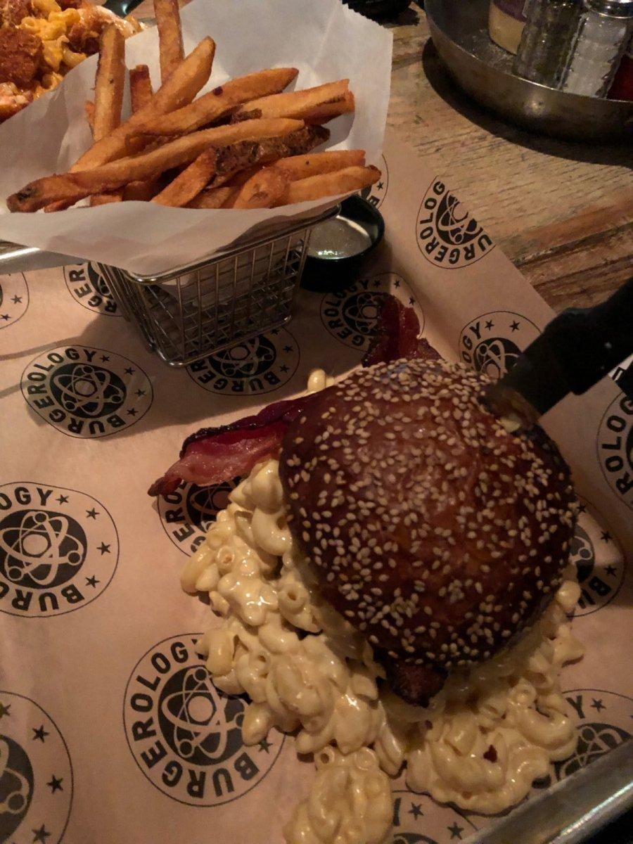 Mac Attack burger