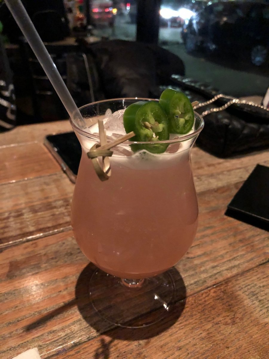 Yianni's Fire cocktail