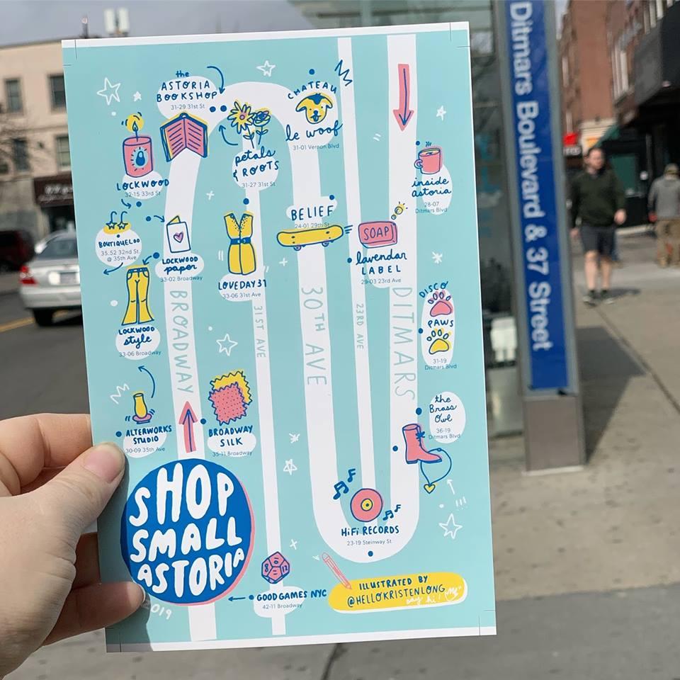 Image via Shop Small Astoria Facebook