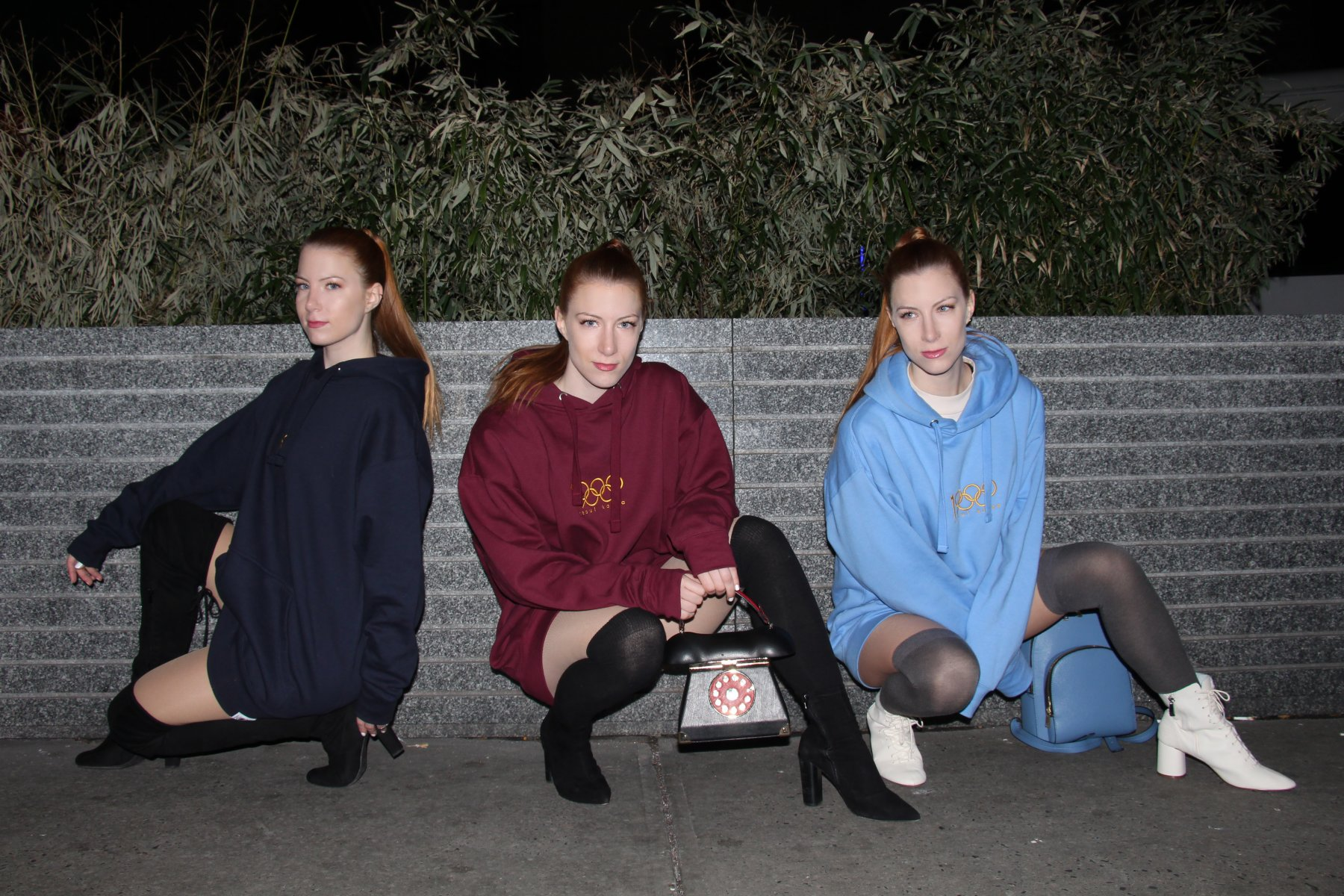 Meet Astoria's triple threat: The Levesque Triplets | Give