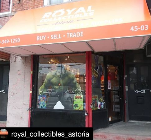 Image via Royal Collectibles Astoria Facebook