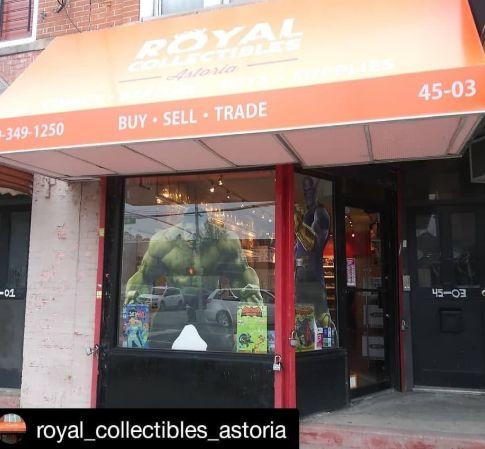 Image via Royal Collectibles Astoria Facebook