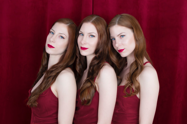 Triplets Hollywood Glam
