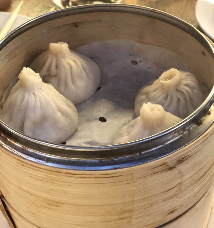 Soup dumplings at The Bund, courtesy of Yelp user Angelina E.