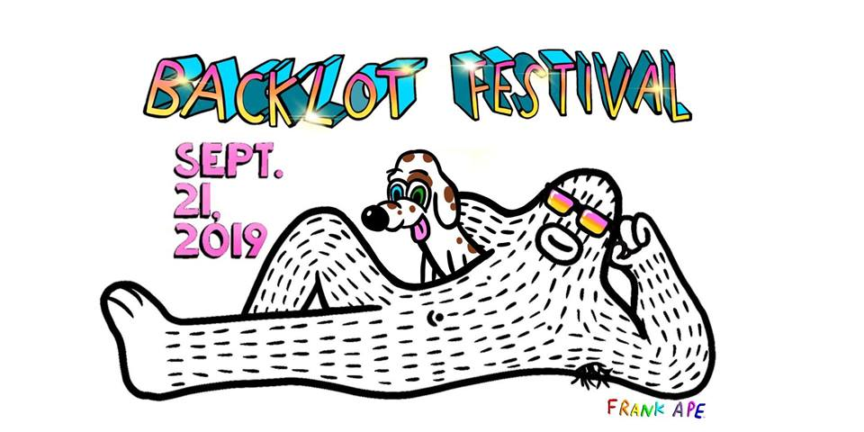 Art by Frank Ape; image credit: Backlot Festival 2019 Facebook.