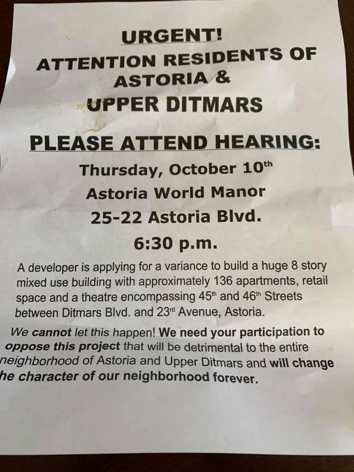 Image via Georgia Sideri via Astoria, Queens Facebook.