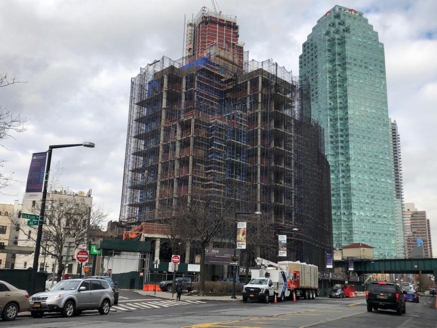 The Prime Building; image via Queens Post/LIC Post.