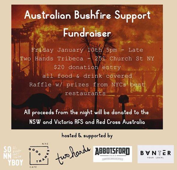 Australian Bushfire Support Fundraiser