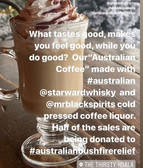 the thirsty koala image via instagram