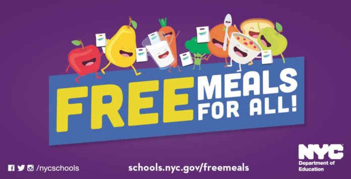 NYC Department of Education offering daily free meals to New ...