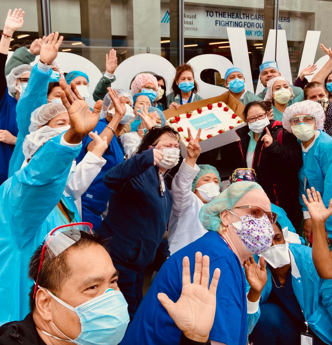 Astoria Clap For Healthcare Heroes