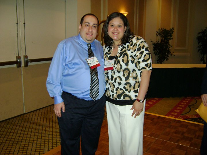 Anthony and his wife Jacklyn at a Circle K convention