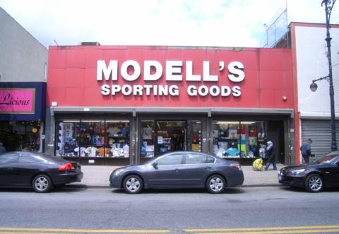 The current Astoria's Modell's