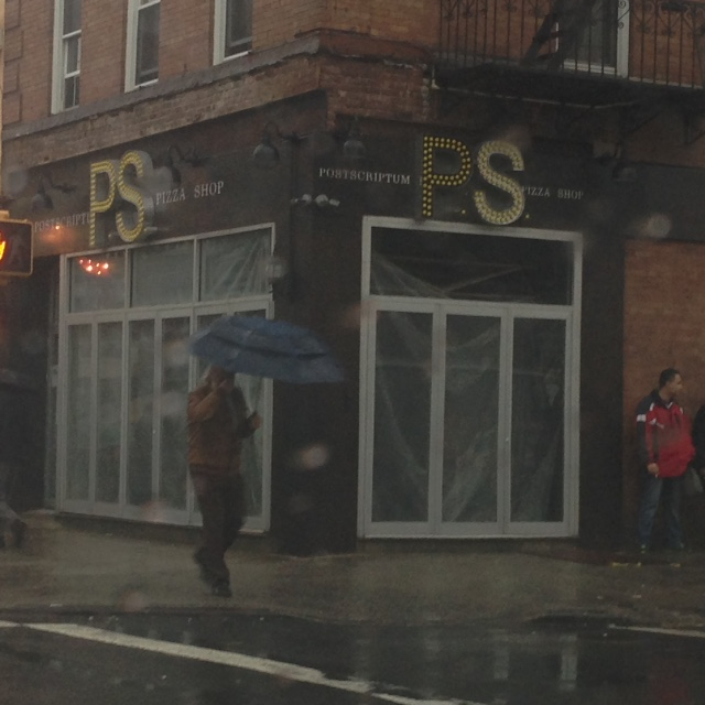PS: Post Scriptum Pizza, 32-02 Broadway