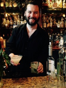 Head Bartender James Rieser