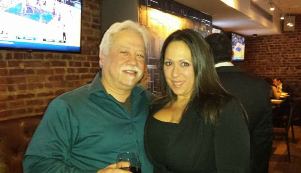 Danielle with Tony Meloni, ofImmigration Advocacy Services, and the New York Anti-Crime Agency