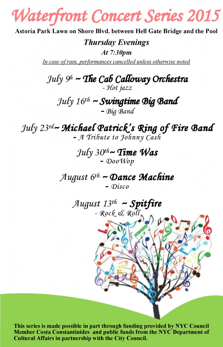 Waterfront Concert Series 2015