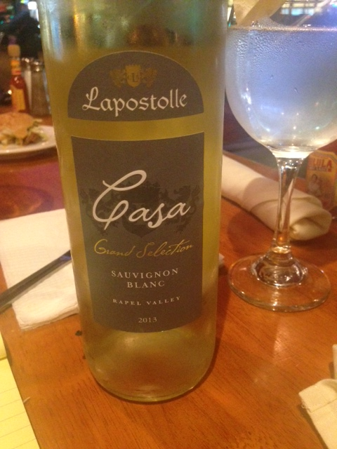 Super light Sauvignon Blanc from California