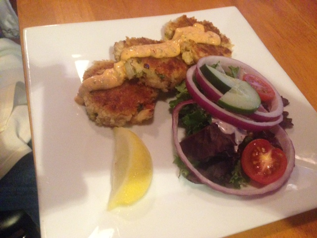 Louisiana Crab Cakes (starter)