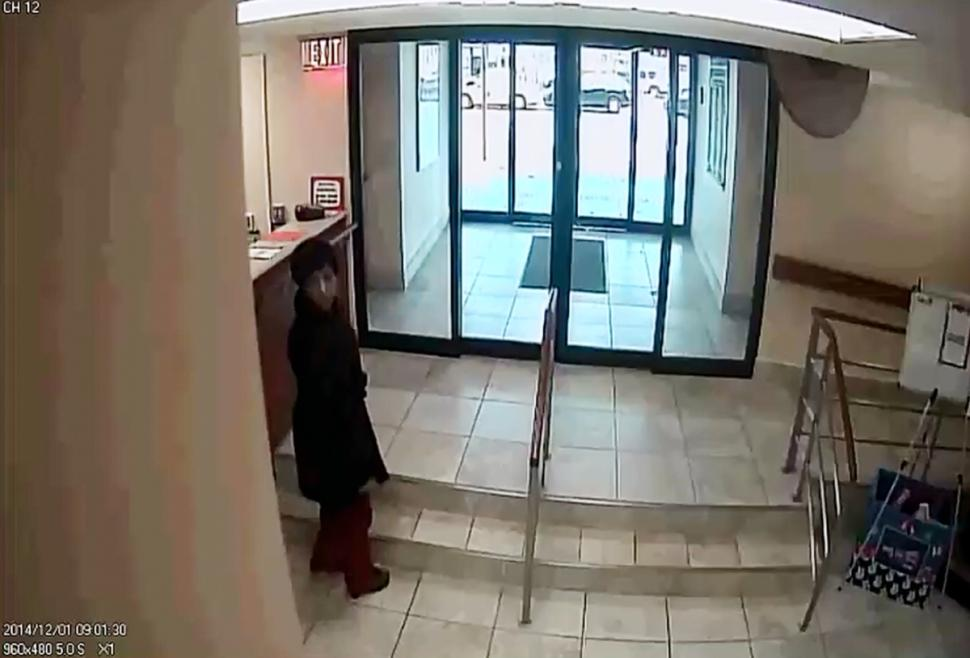 A video shot of the scammer